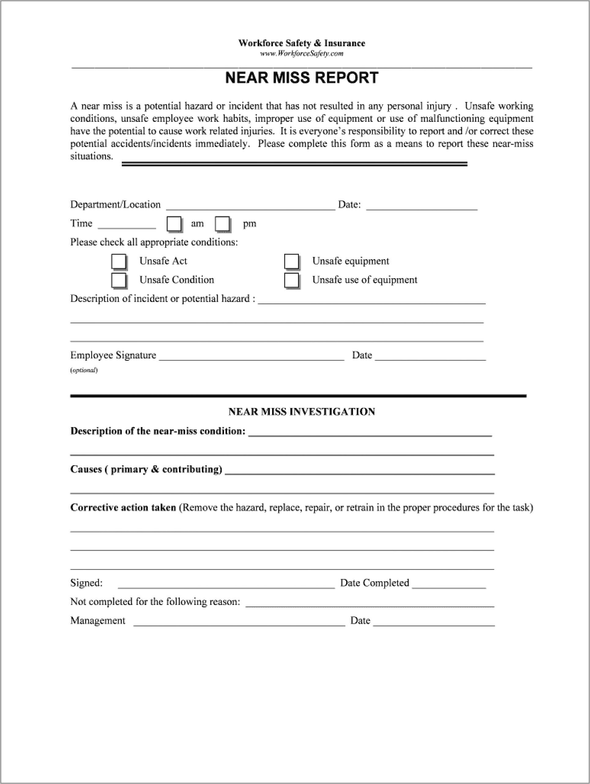 microsoft word security incident report template