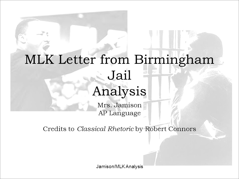 Mlk Letter From Birmingham Jail