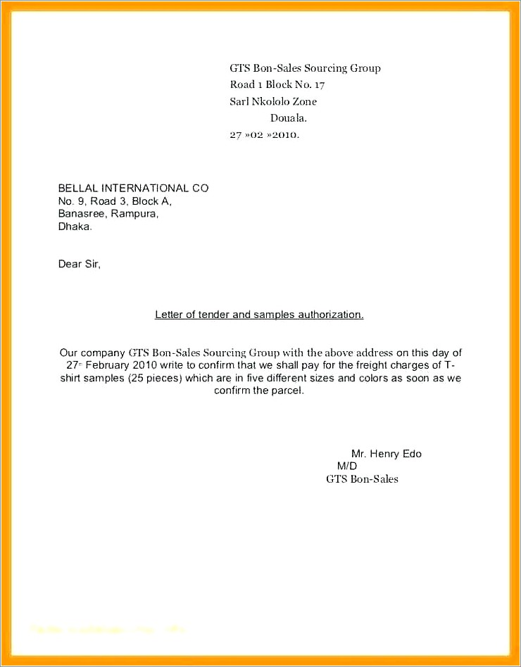 Notarized Letter Of Guardianship Sample