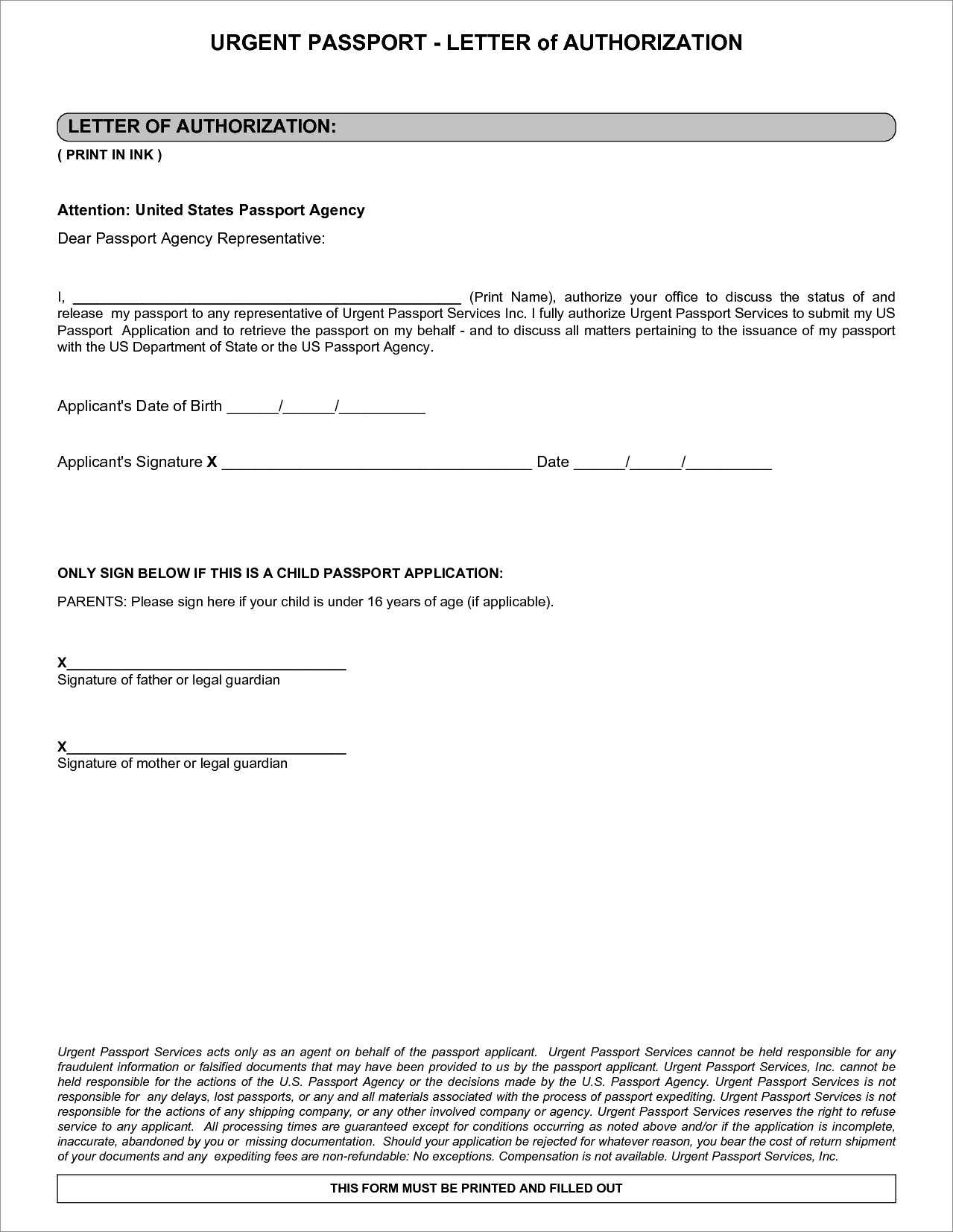 Notary Public Sample Notarized Letter Of Authorization