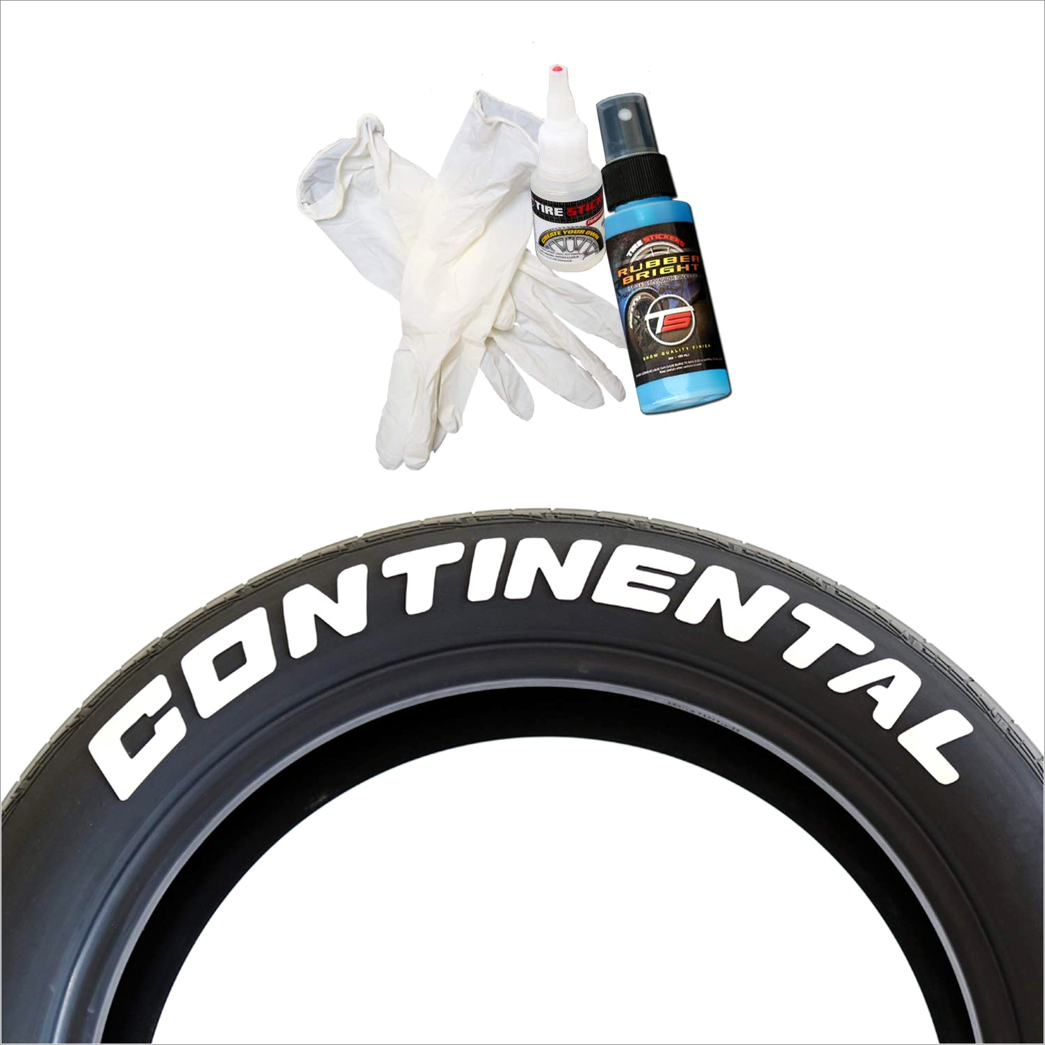 Permanent Tire Lettering Kit