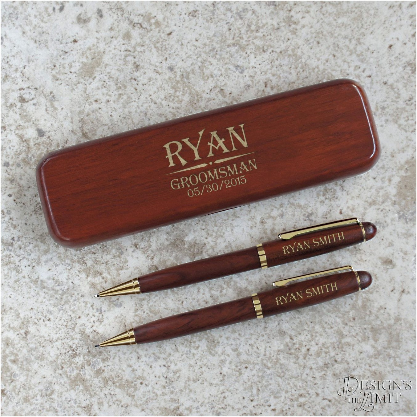 Personalized Pen And Letter Opener Set