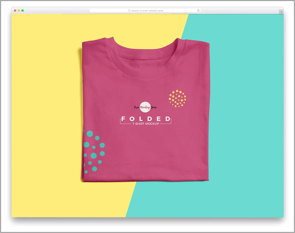 Polo T Shirt Mockup Template Free Download