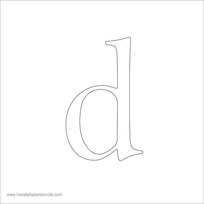 Printable Block Letters To Print
