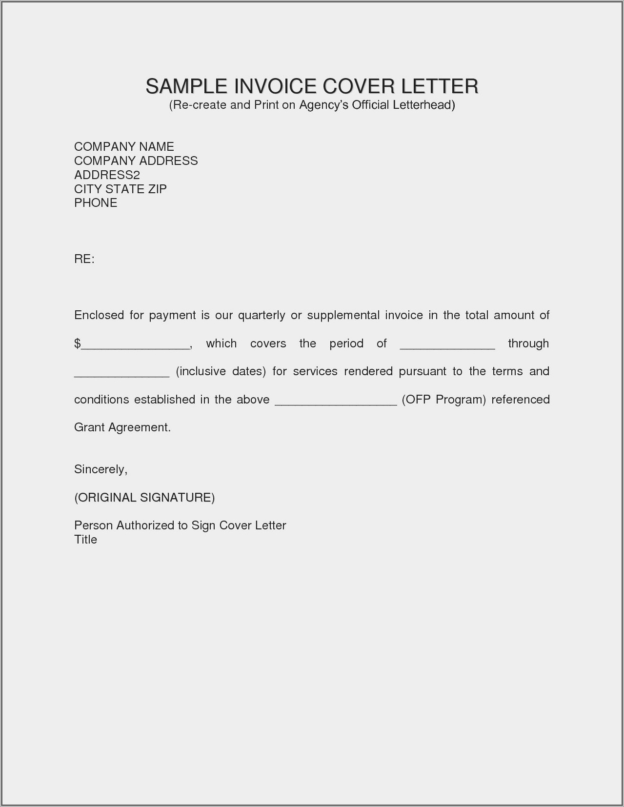 Proof Of Residency Letter From Landlord Template
