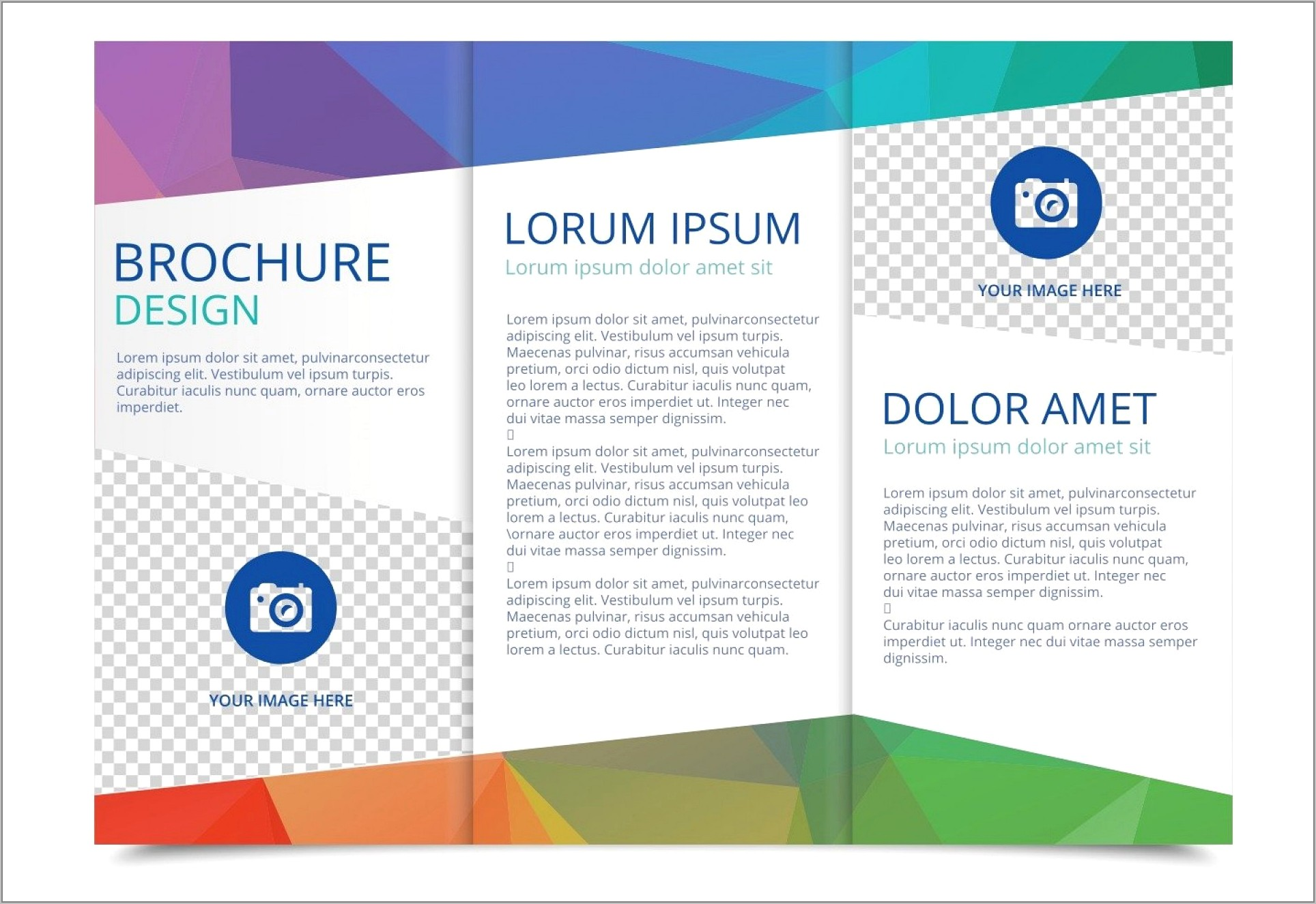 Publisher Templates Brochures Tri Fold Free