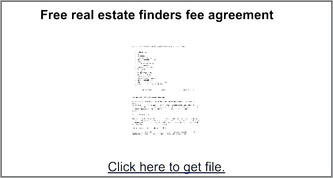 Real Estate Contingency Contract Example