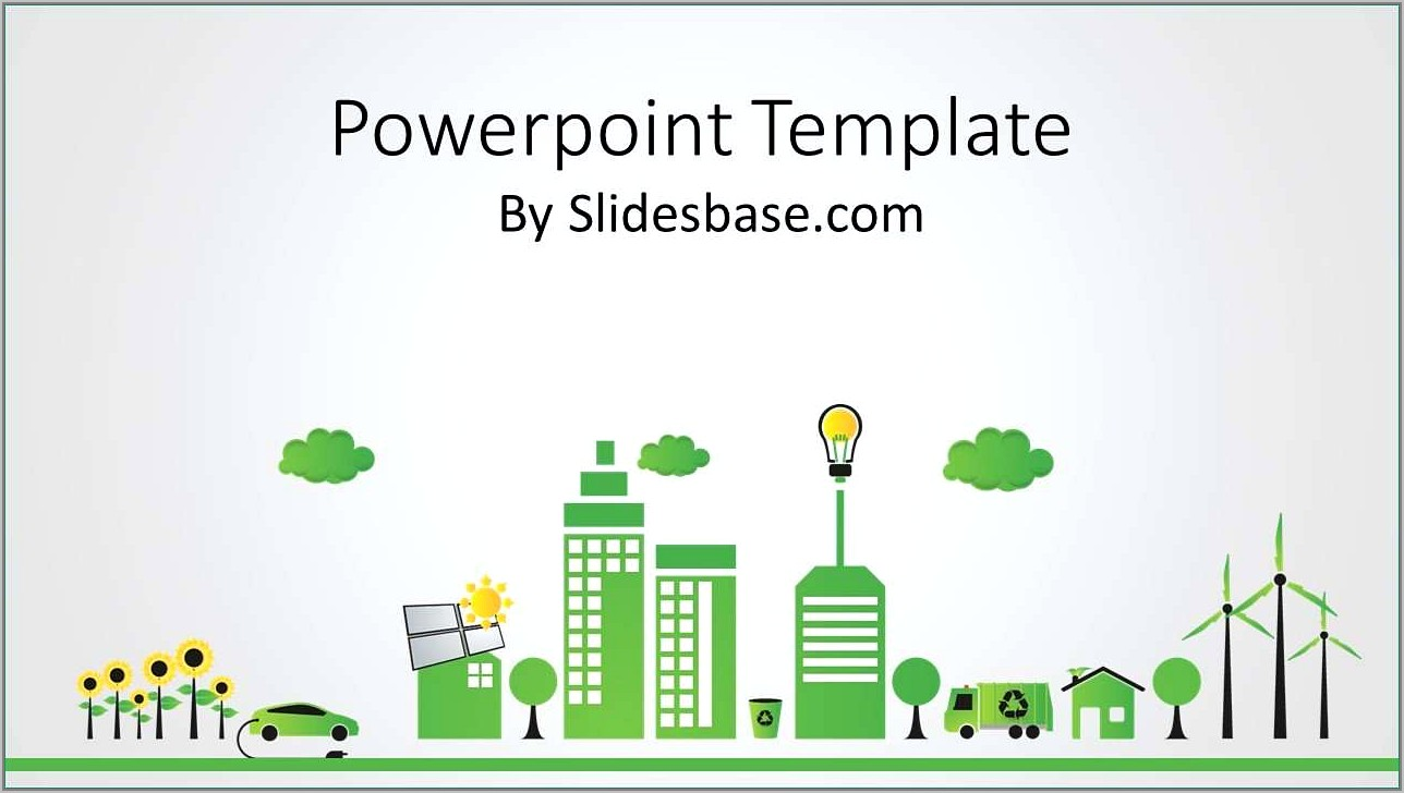 Renewable Energy Ppt Templates Free Download