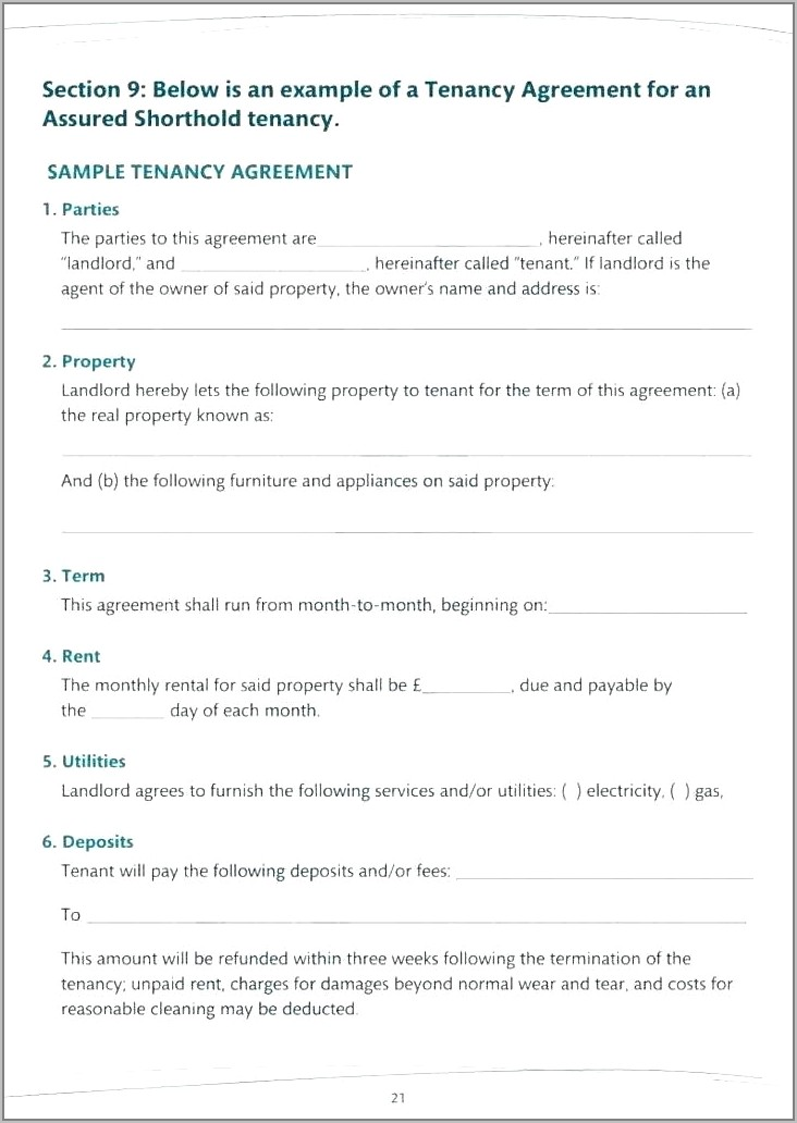 Renewal Of Tenancy Agreement Letter Template
