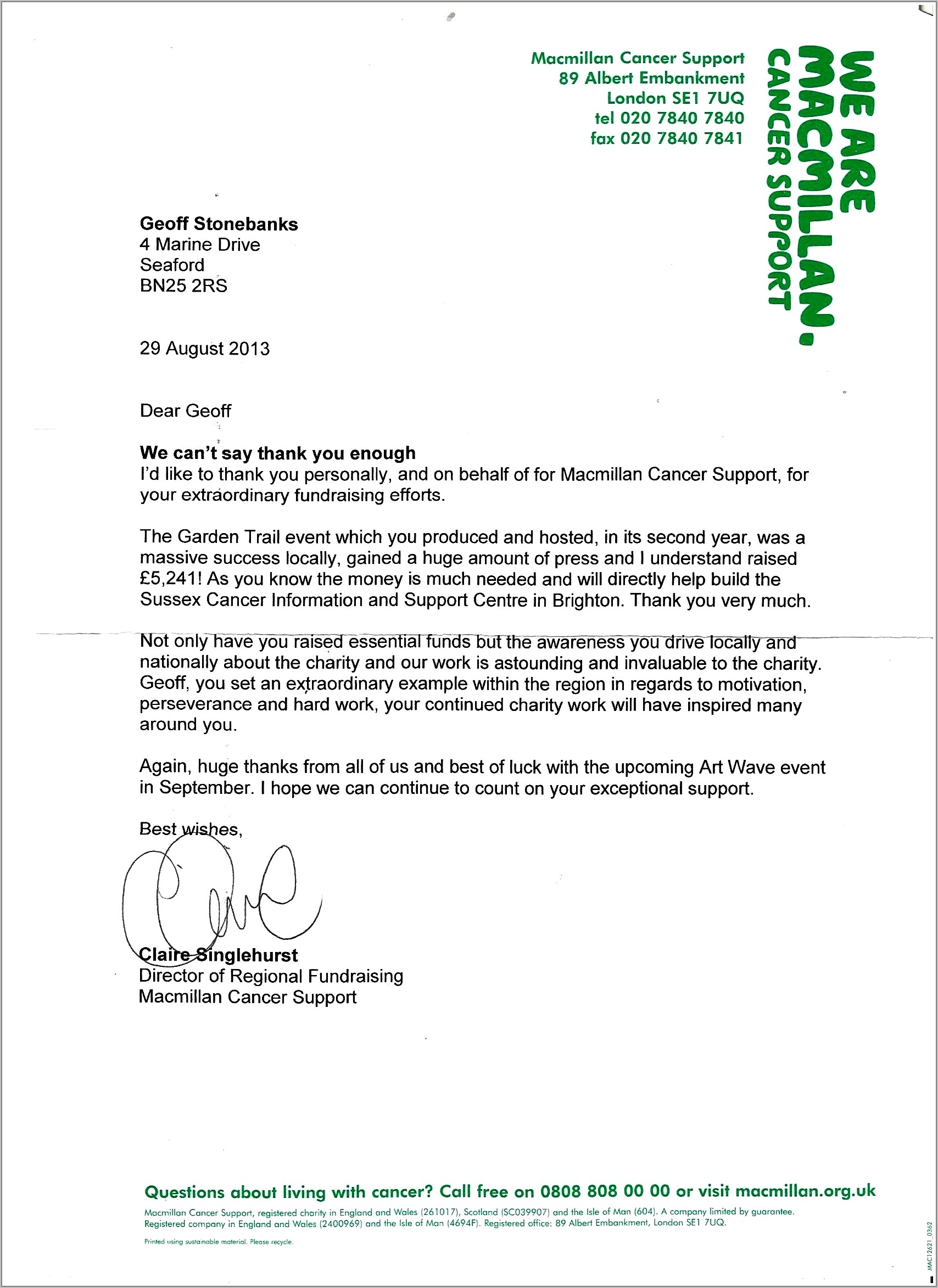 Request For Charity Donations Letter Template
