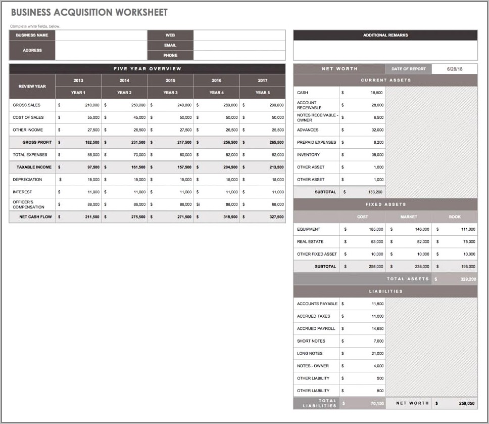 Restaurant Inventory Tracking Templates