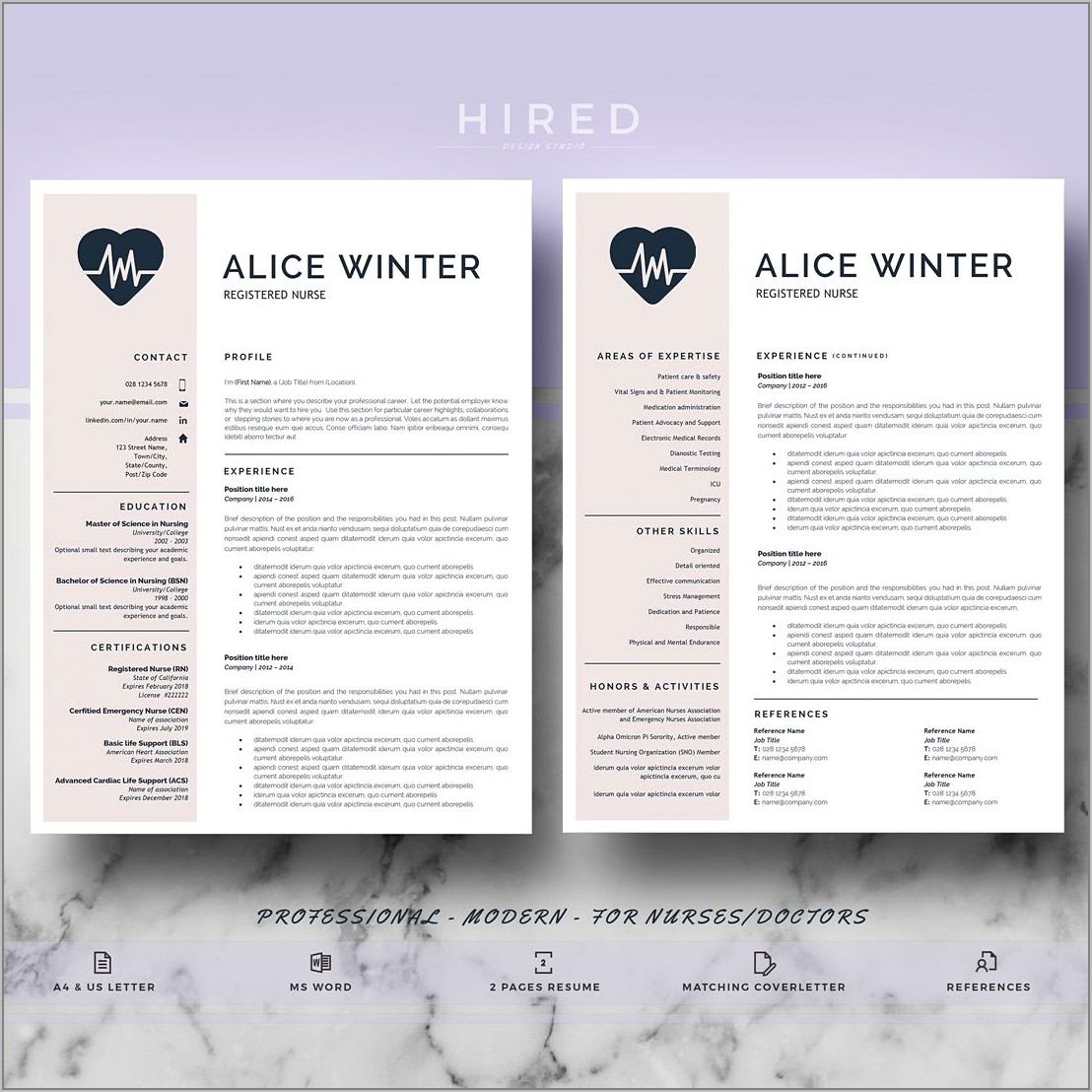 Resume Template For Doctor