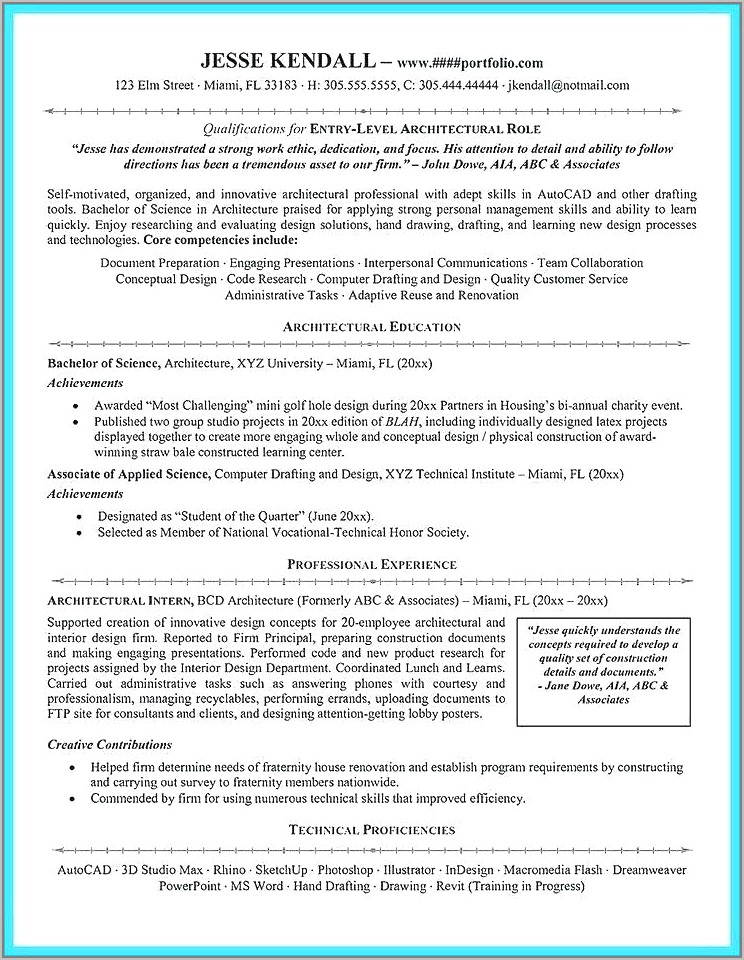 Resume Templates For Child Actors