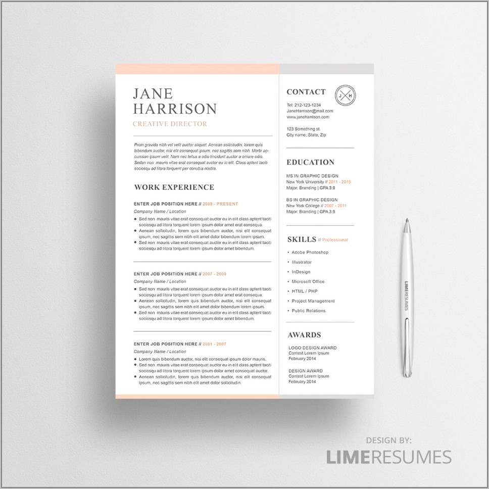 Retail Manager Resume Template Microsoft Word