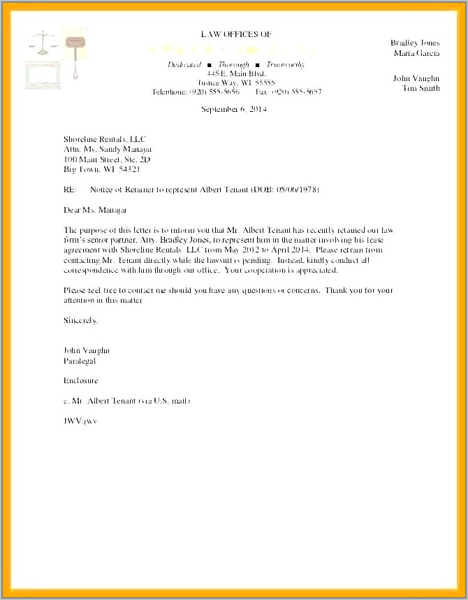 Retainer Agreement Template Attorney