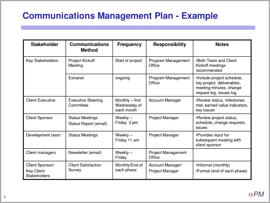 Risk Mitigation Plan Template Examples