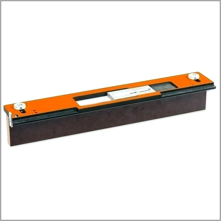 Router Hinge Jig Template