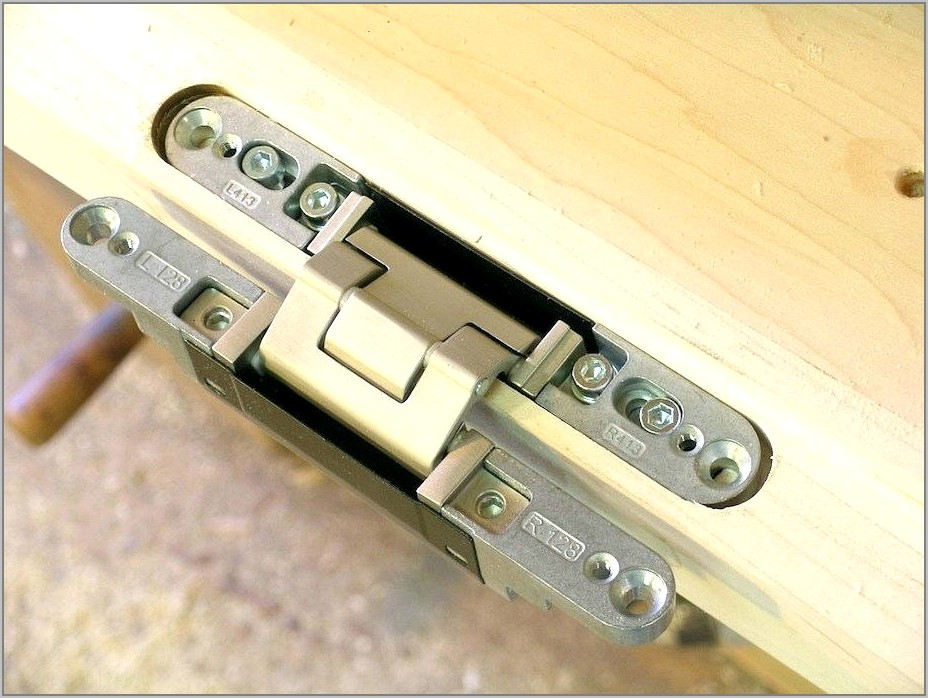 Routing Door Hinge Templates