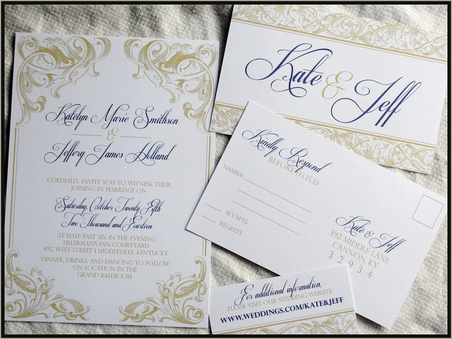 Royal Wedding Invitation Designs