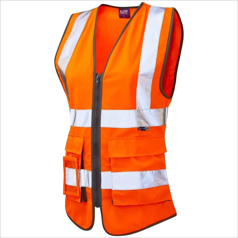 Safety Vest Custom Lettering