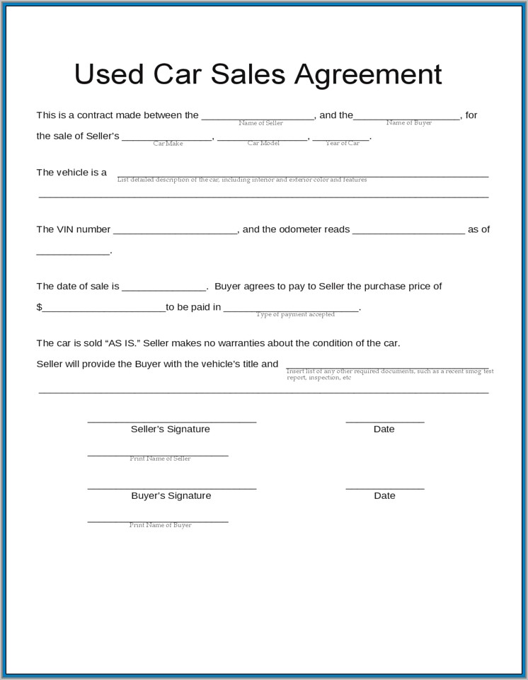 Sale  Purchase Agreement Template Nz