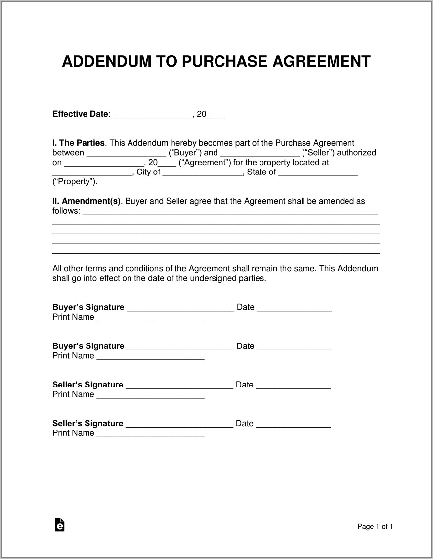 Sale Purchase Agreement Format