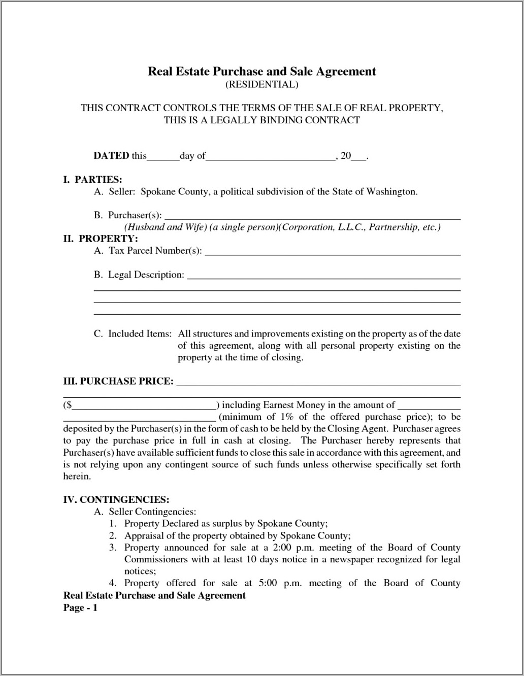 Sales Agreement Template Word South Africa