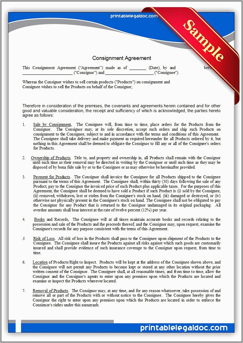 Sales And Purchase Agreement Samples