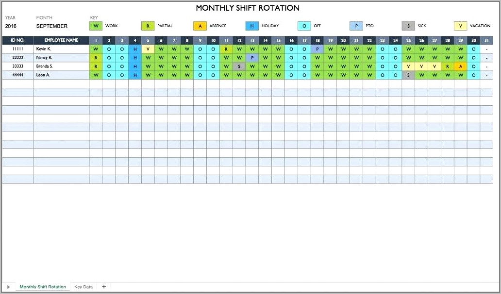 Sales Call Cycle Planner Template