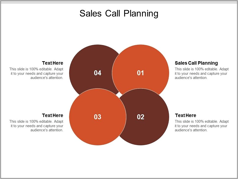 Sales Call Planning Template
