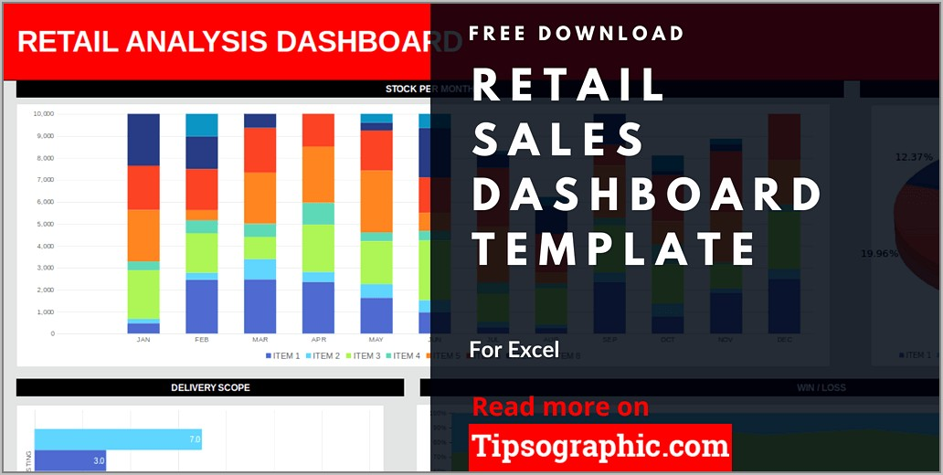 Sales Dashboard Template Free