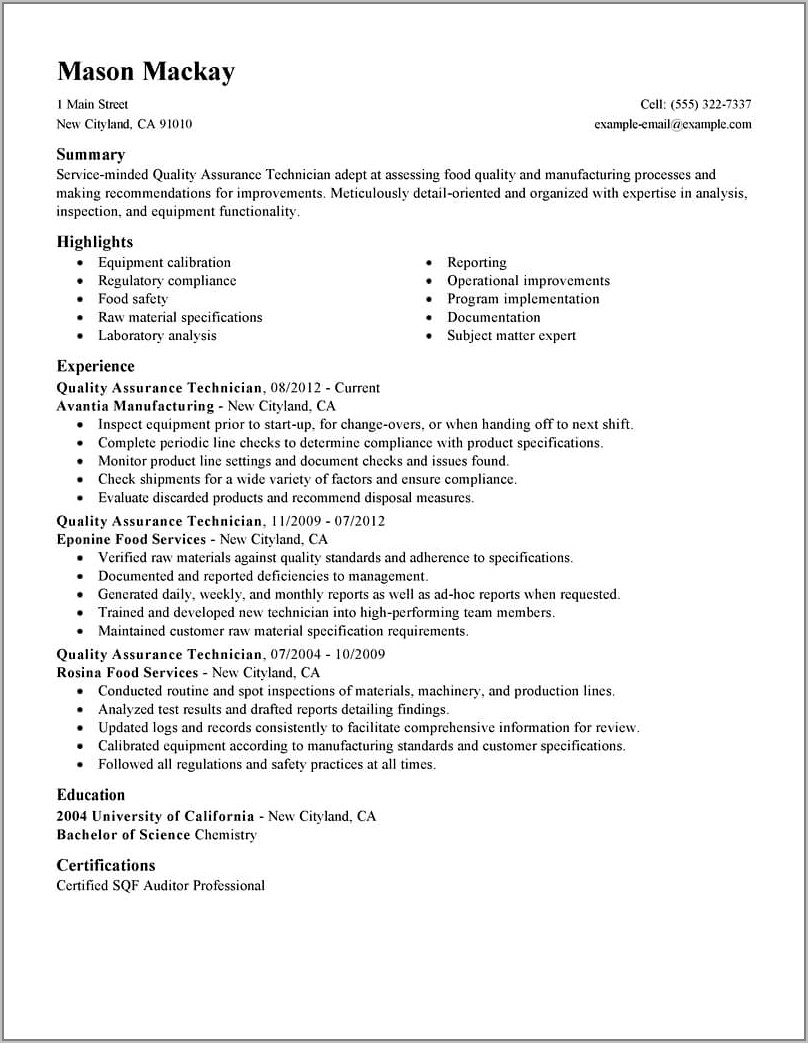 Sales Executive Resume Template Word