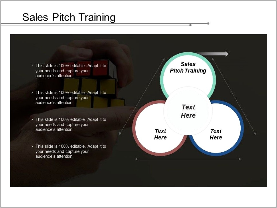 Sales Pitch Template Ppt