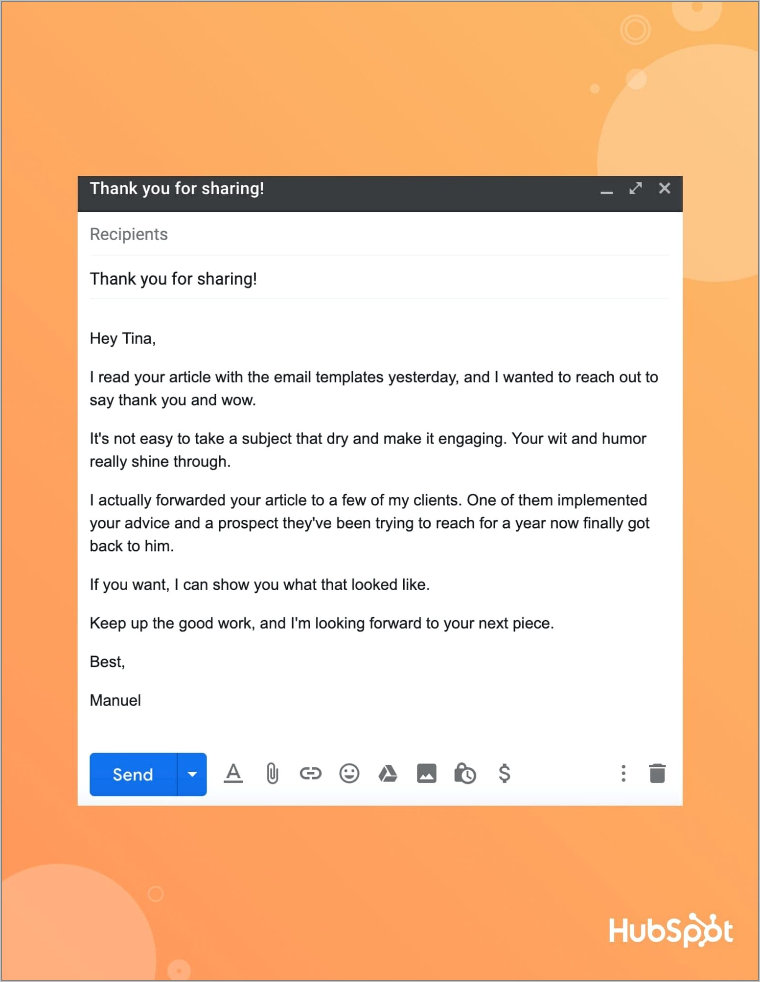 Sales Prospecting Email Templates