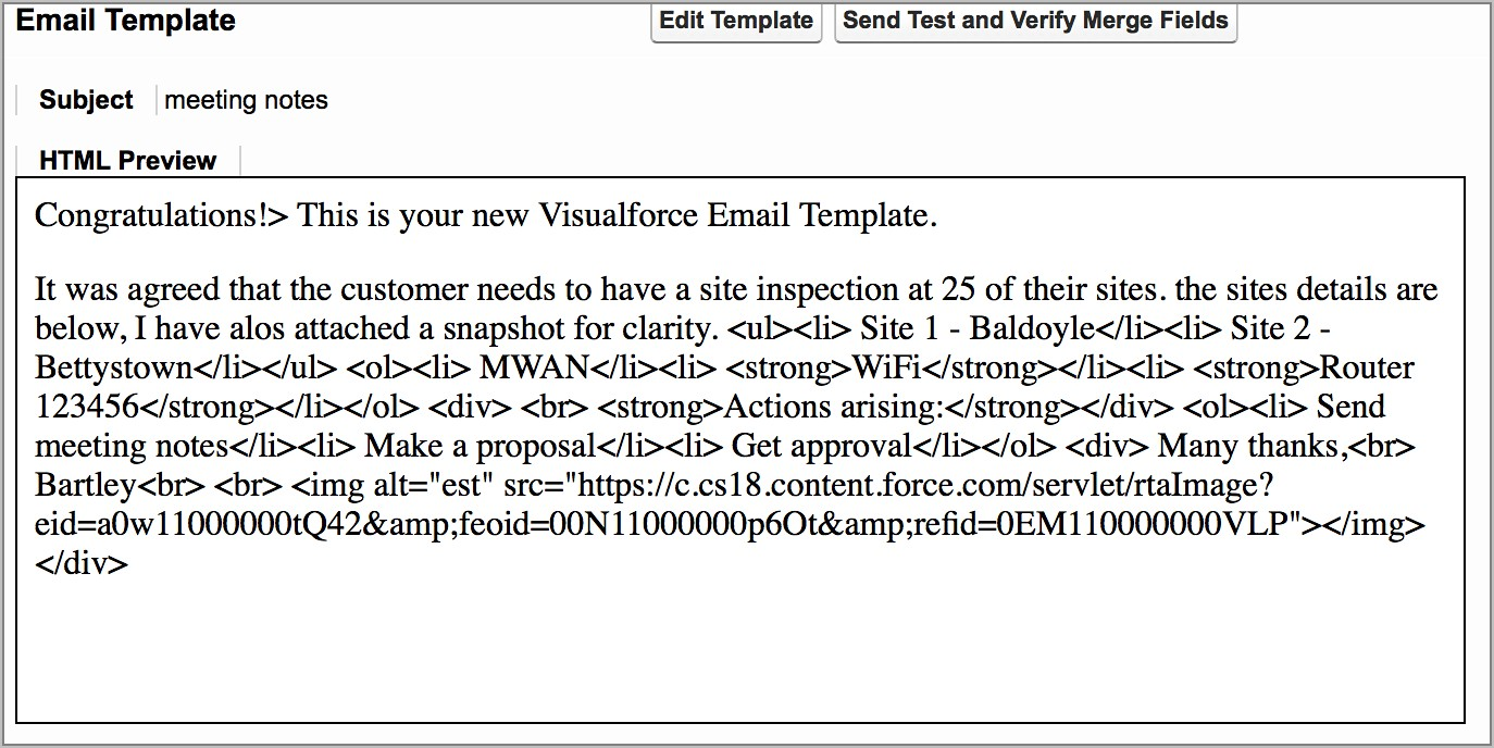 Salesforce Email Template Merge Fields Not Working