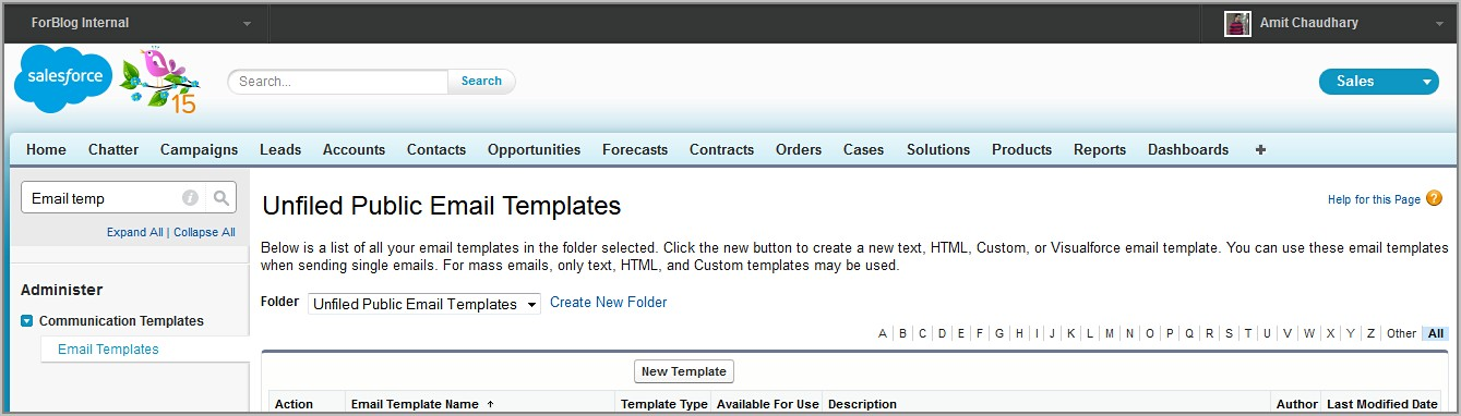 Salesforce Email Templates Visualforce