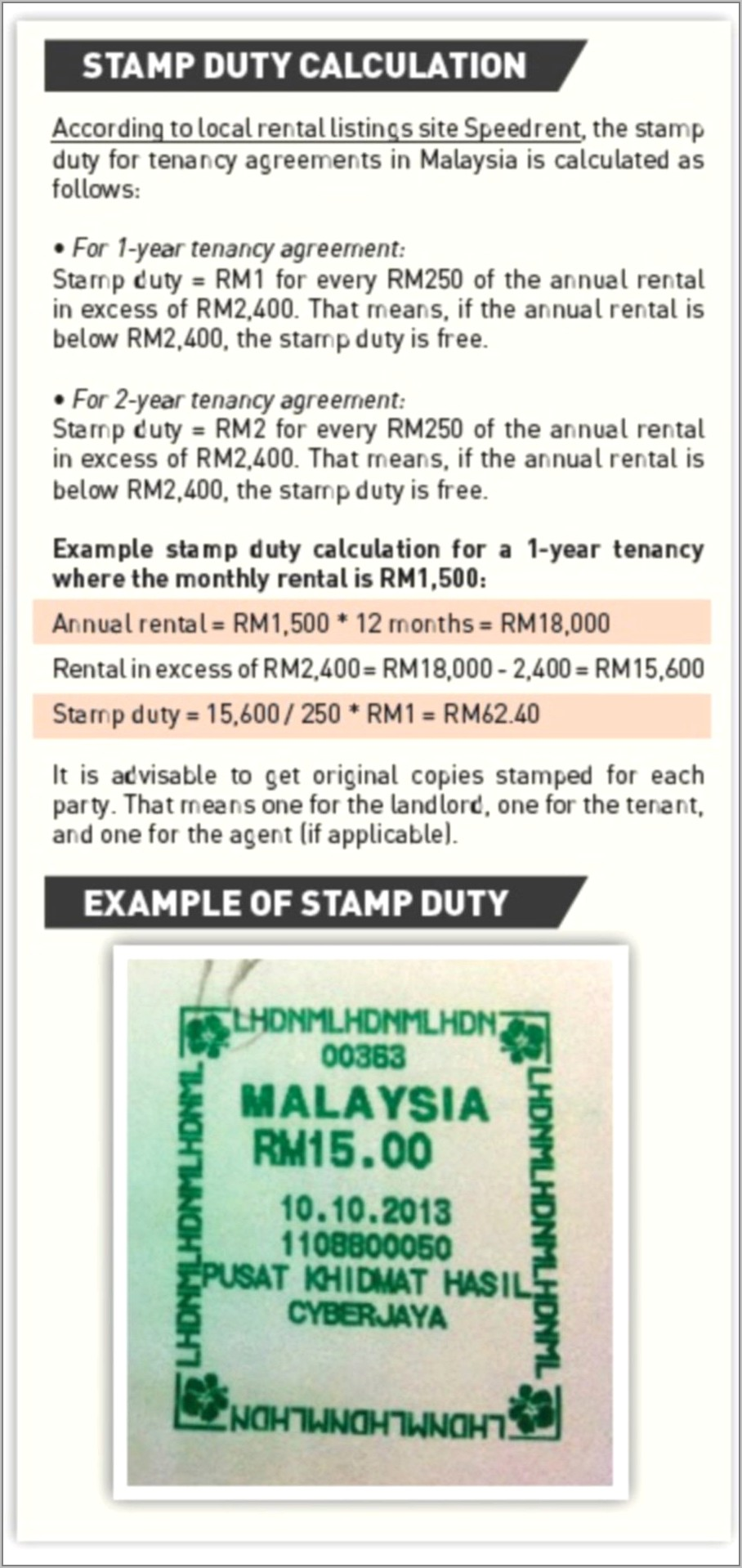 Sample Of Tenancy Agreement Letter In Malaysia