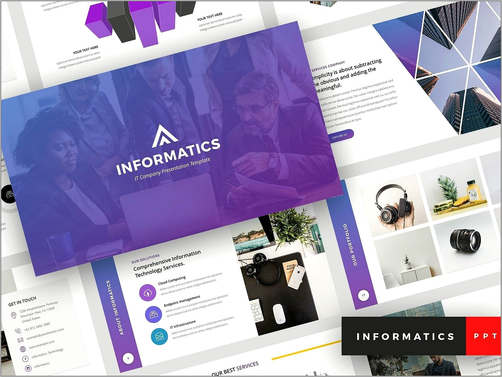 Sample Ppt Templates For Technical Presentation