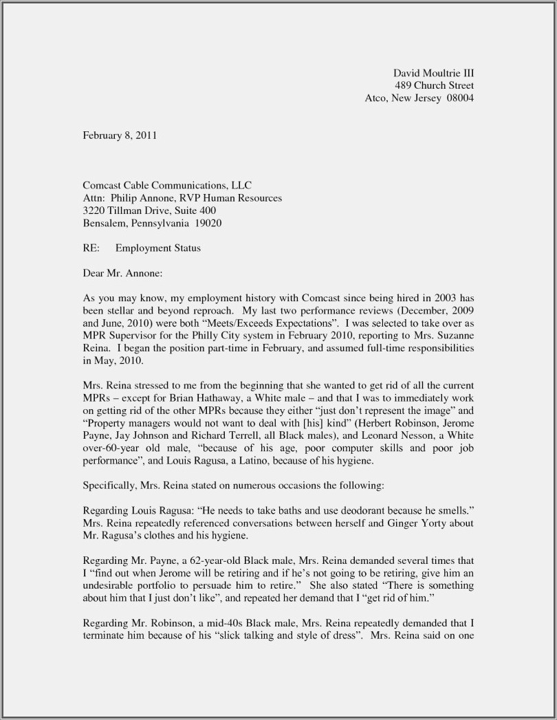 Sample Resignation Letter Requesting Severance Pay