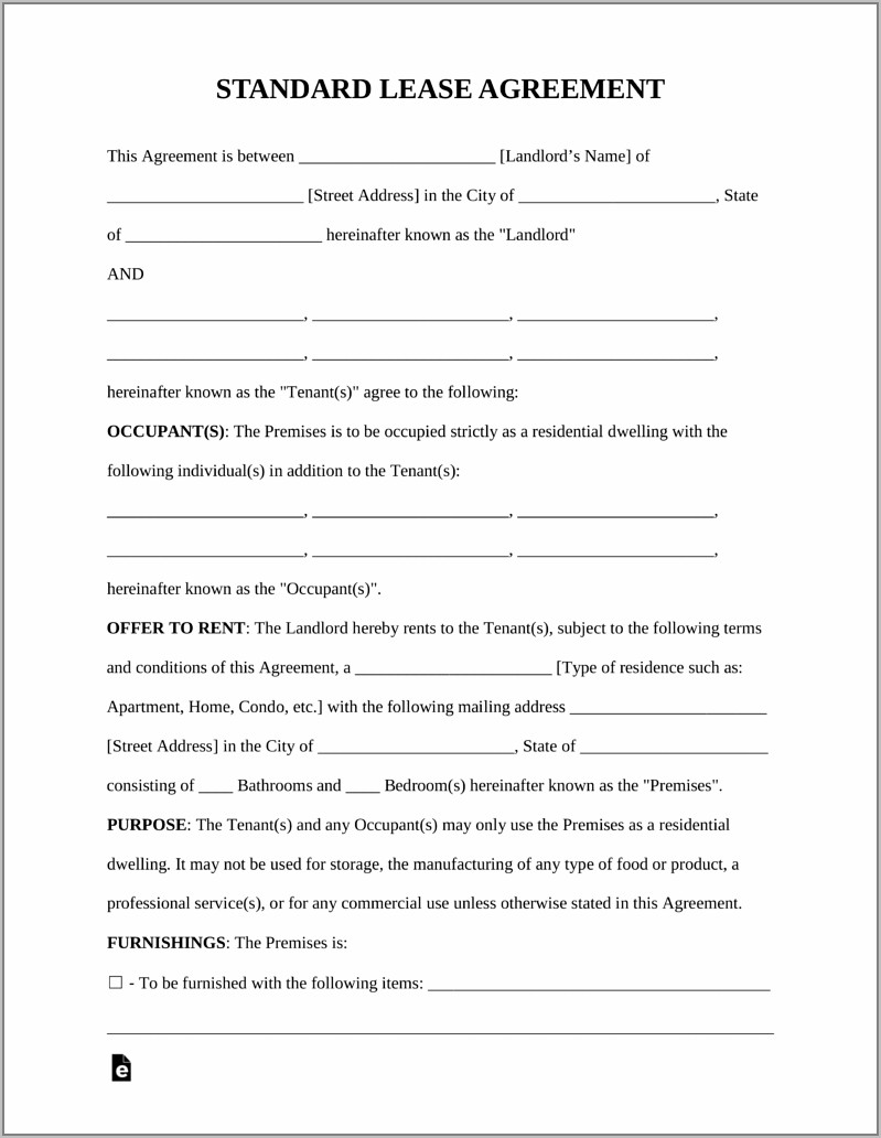 Sample Retail Lease Agreement Victoria