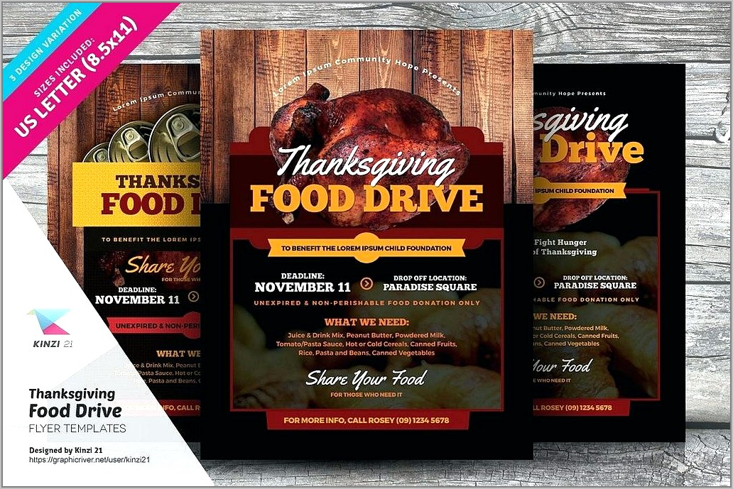 Sample Template For Flyers
