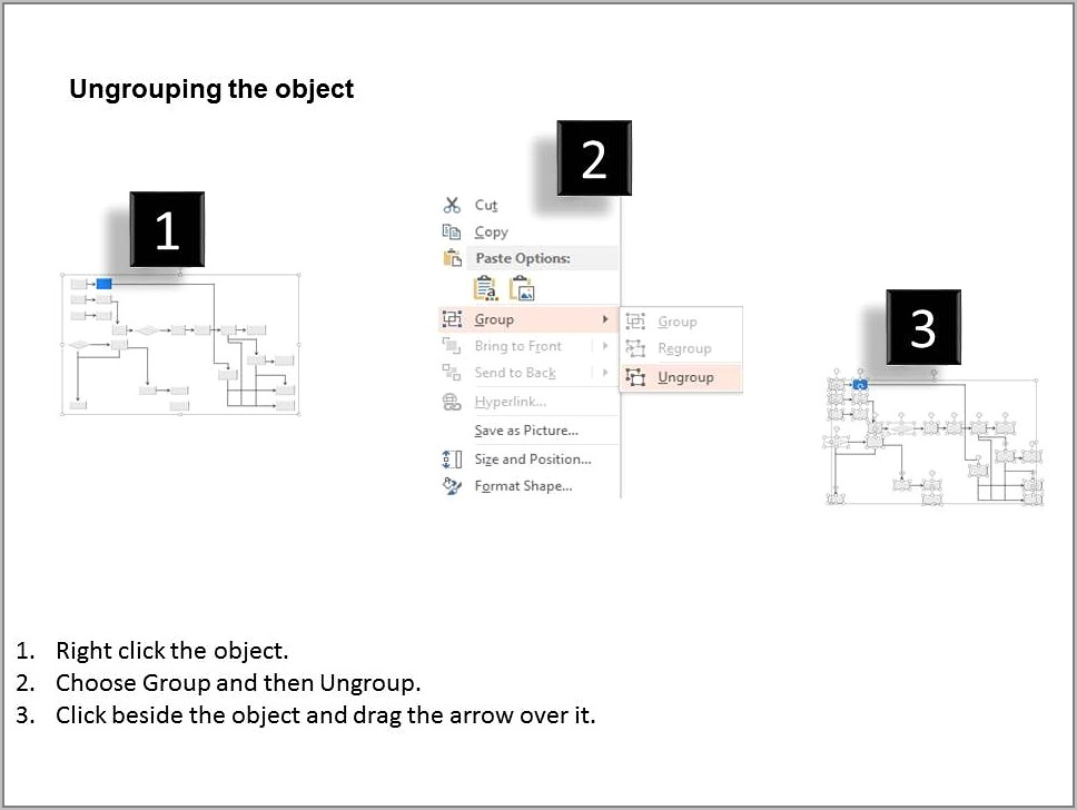 Sample Template For Process Flow Chart