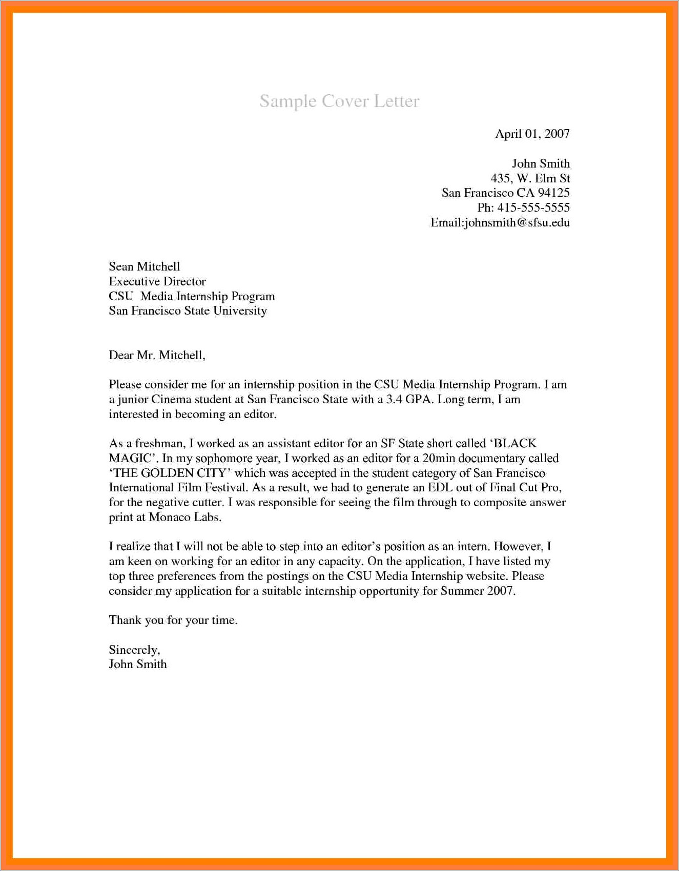 Samples Of Recommendation Letters For Medical Assistant