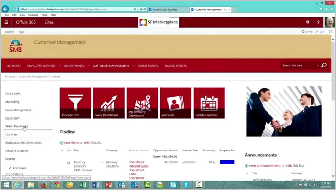 Sharepoint 365 Intranet Templates Free