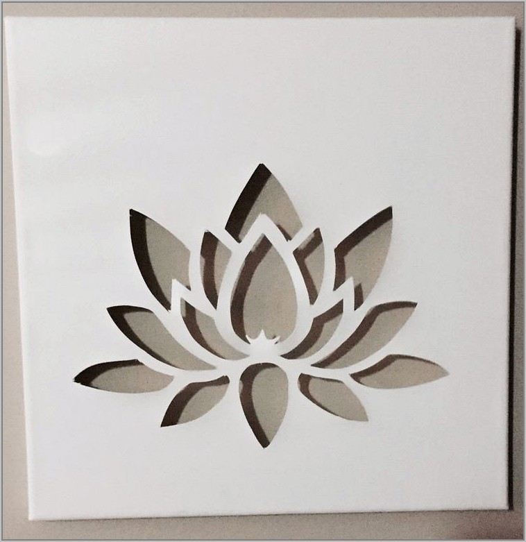 Simple Stencil Designs For Fabric Painting