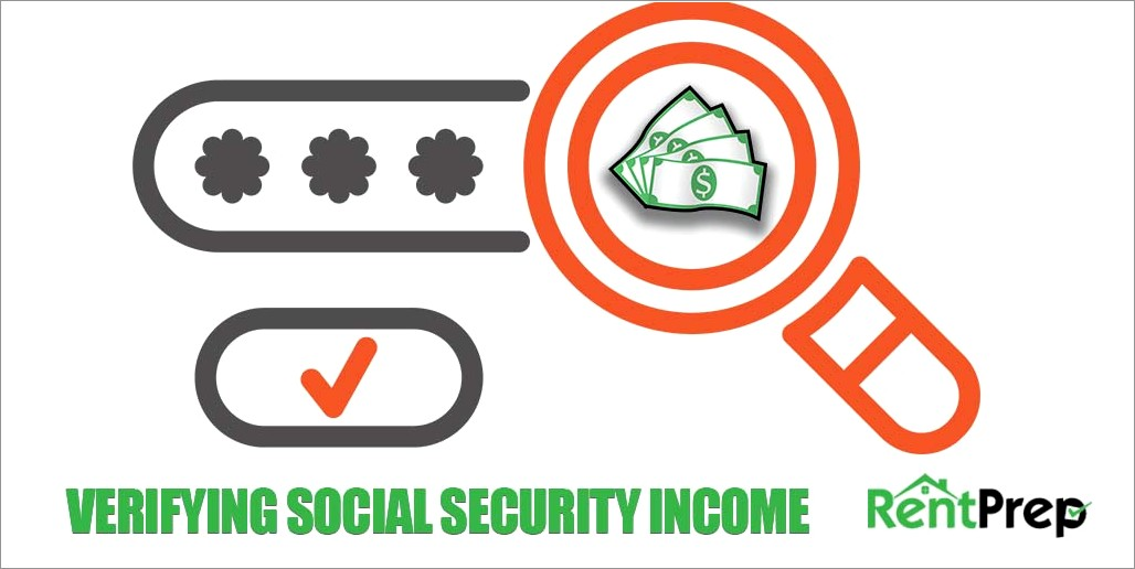 Ssdi Proof Of Income Letter
