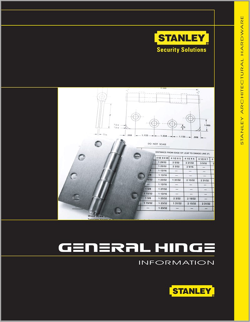 Stanley Hinge Template Instructions