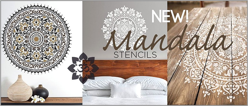 Stencil Designs For Painting Walls