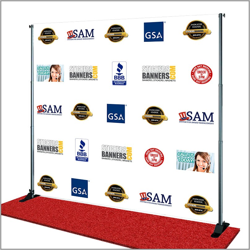 Step And Repeat Template Free