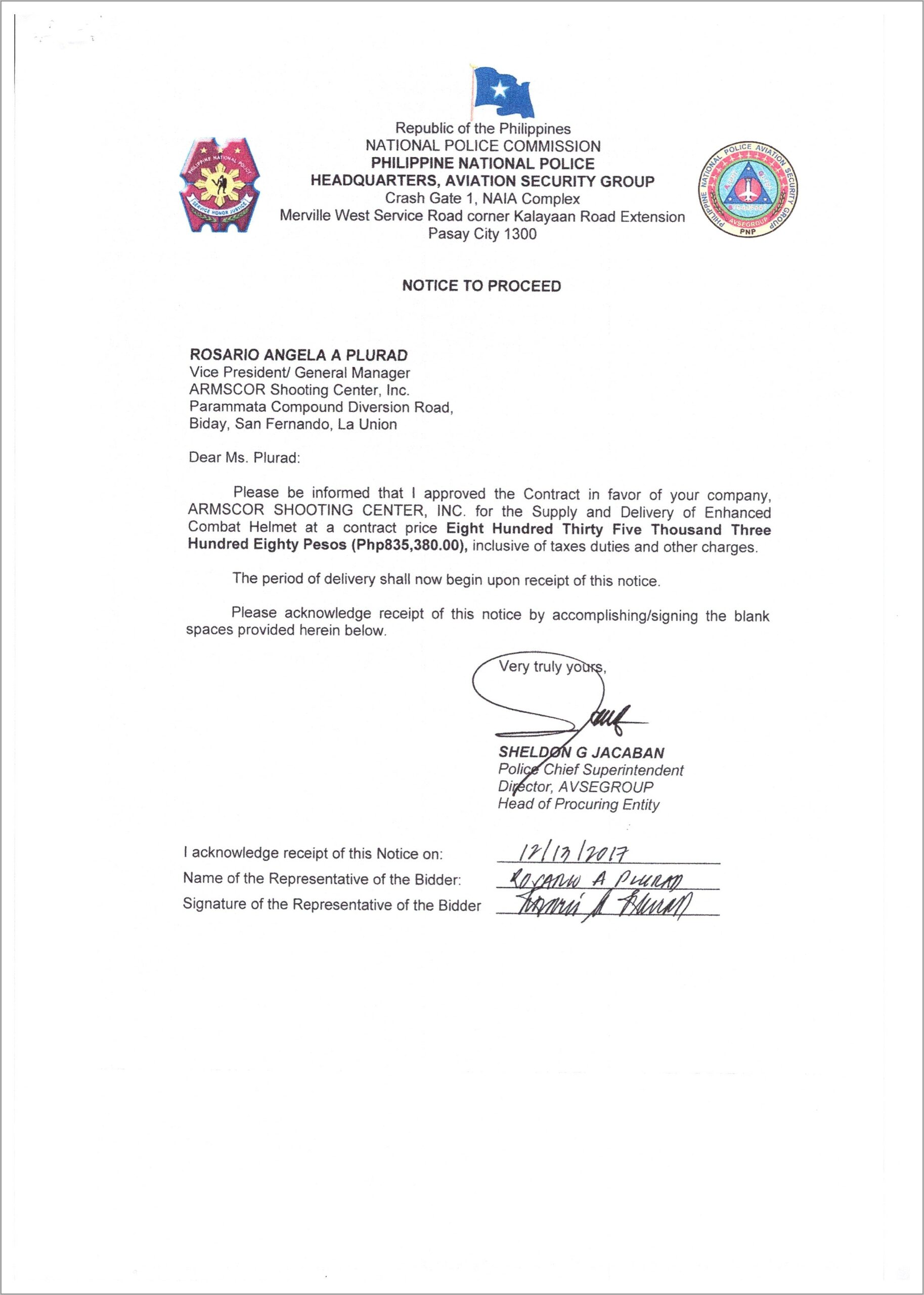 Stock Purchase Agreement Sample Philippines